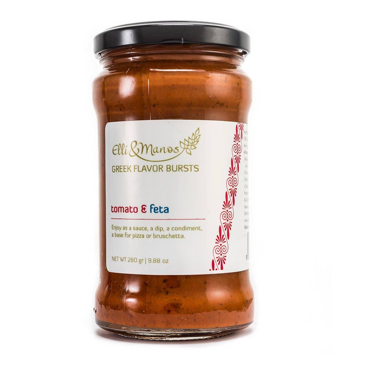 Elli & Manos - Tomato & Feta, All-Natural Spread/Dip | Trada Marketplace