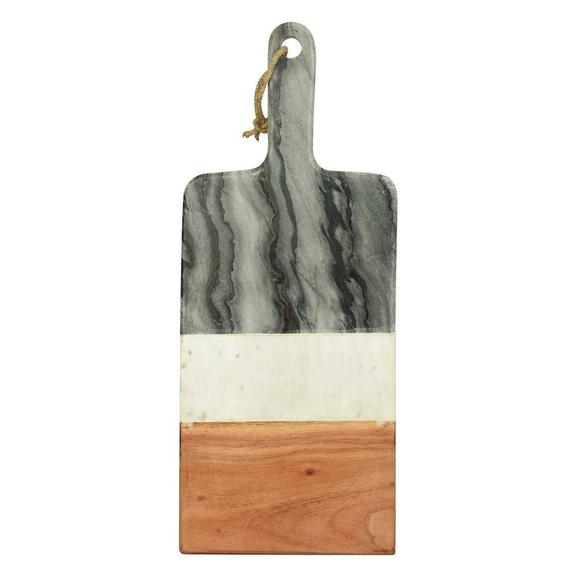 "Mayan Marble & Wood Board (19.5""x8"")   Trada Marketplace"