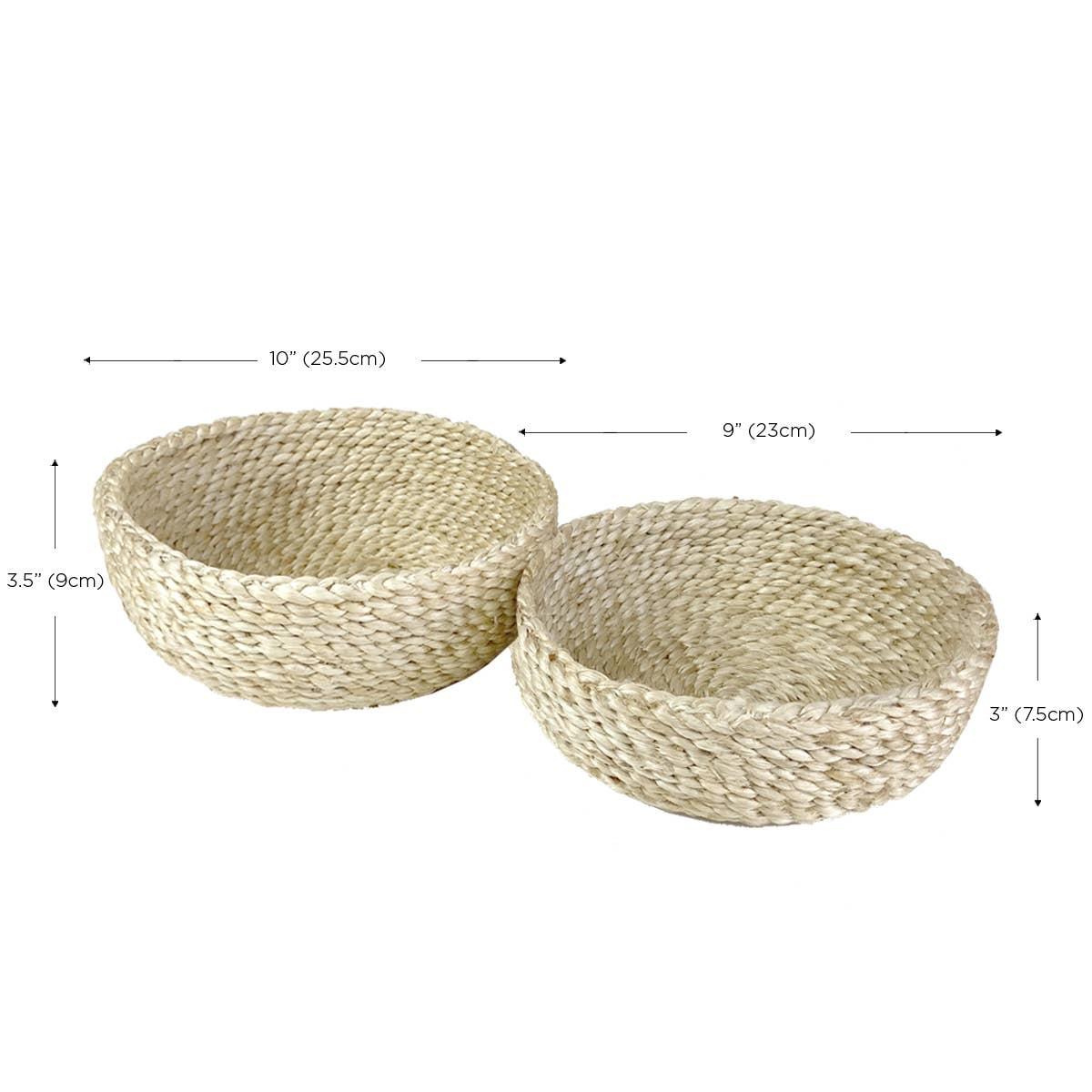 Phala Bowl - Natural (Set of 2) | Trada Marketplace