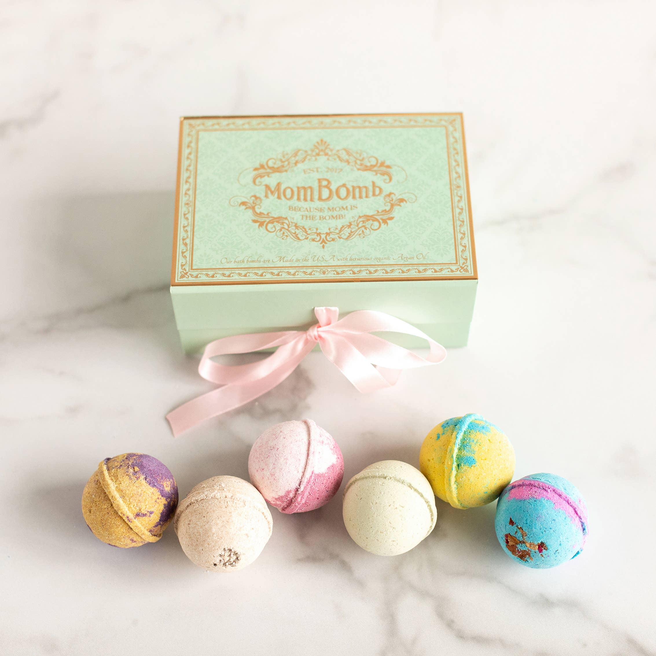 Bath Bomb Gift Set, Proceeds Fund Charity to Help Moms | Trada Marketplace