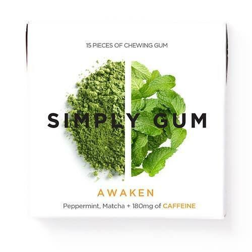 Awaken Caffeine Chewing Gum | Trada Marketplace