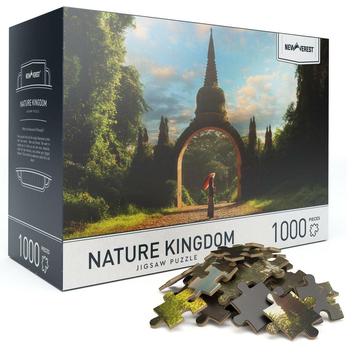 1000 pcs Newverest Nature Kingdom Jigsaw Puzzle | Trada Marketplace
