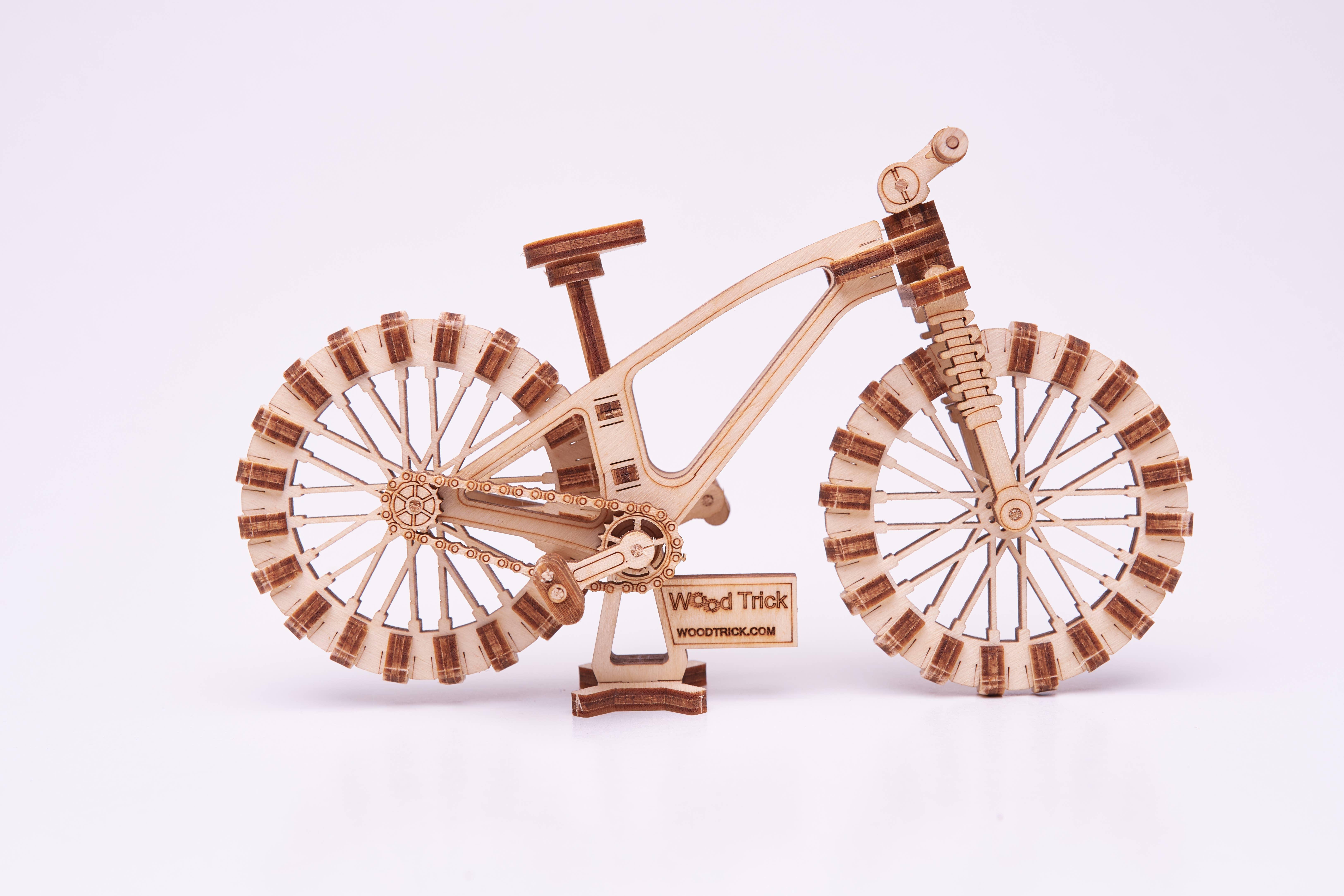 Woodik Bicycle Puzzle | Trada Marketplace