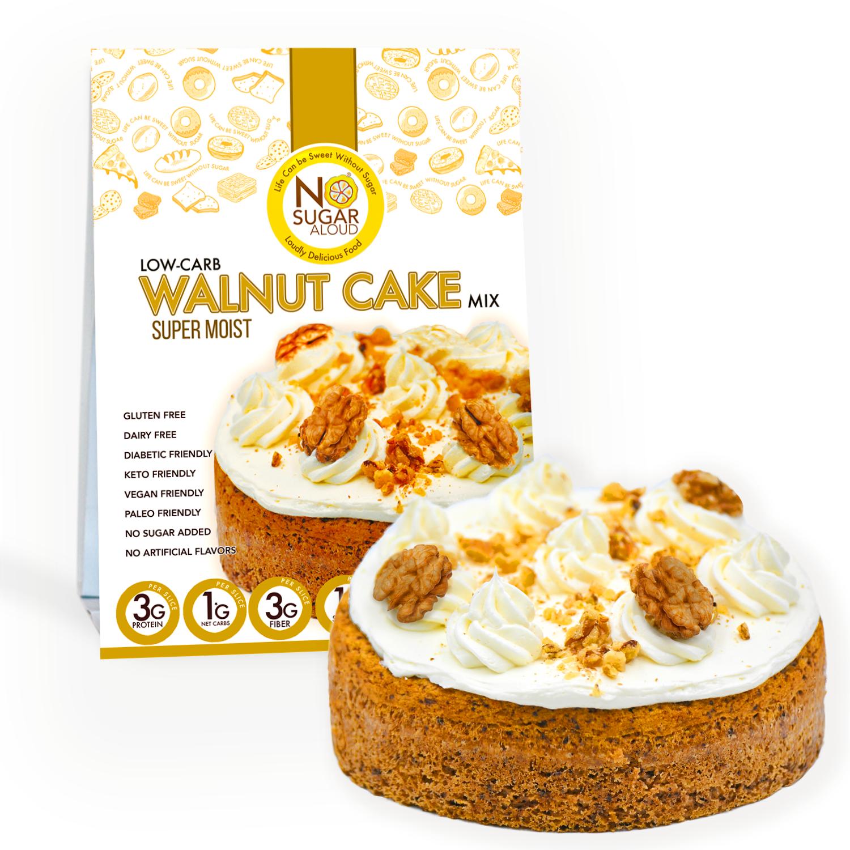 Low-Carb Walnut Cake Mix   Trada Marketplace