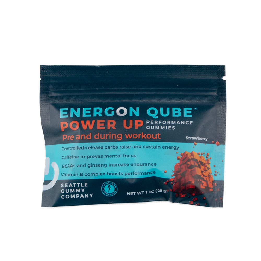 Energon Qube Sports Gummies Strawberry Power Up Pre-Workout (12-Pack)    Trada Marketplace