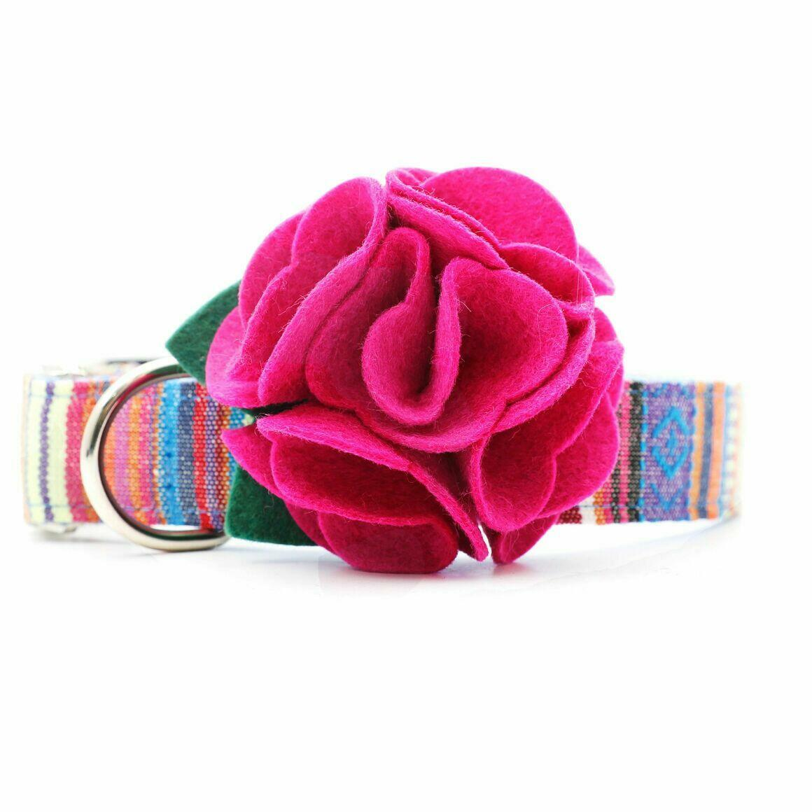 Dog Collar Hydrangea Flower - Rose Petal   Trada Marketplace