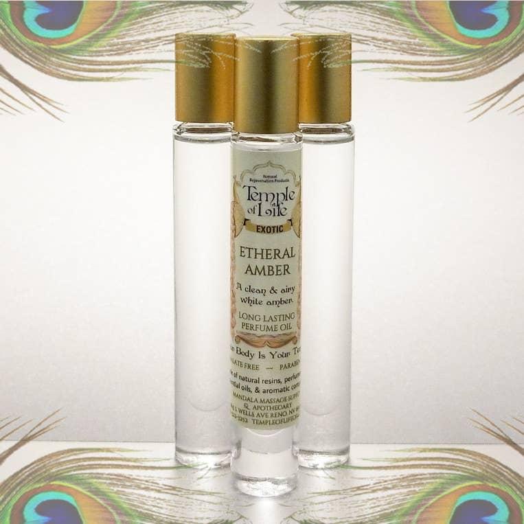 Exotic Perfume Oil - Etheral Amber   Trada Marketplace