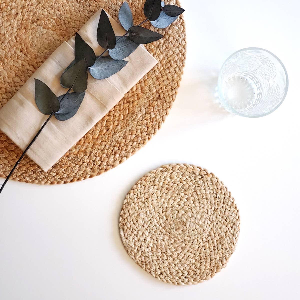 Kata Natural Coaster (Set of 4)   Trada Marketplace