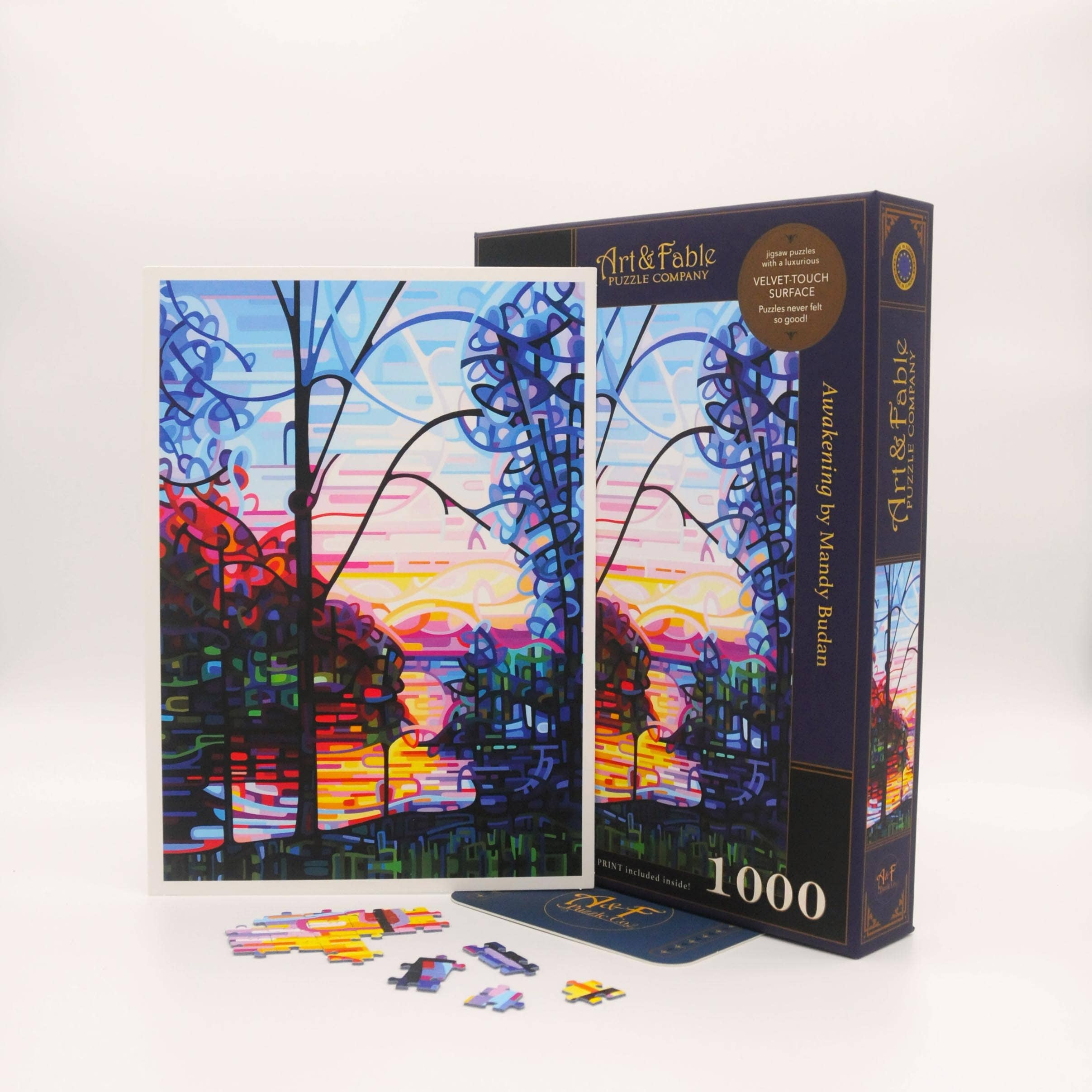 Awakening, 1000-pc Velvet-Touch Puzzle featuring the art of Mandy Budan | Trada Marketplace