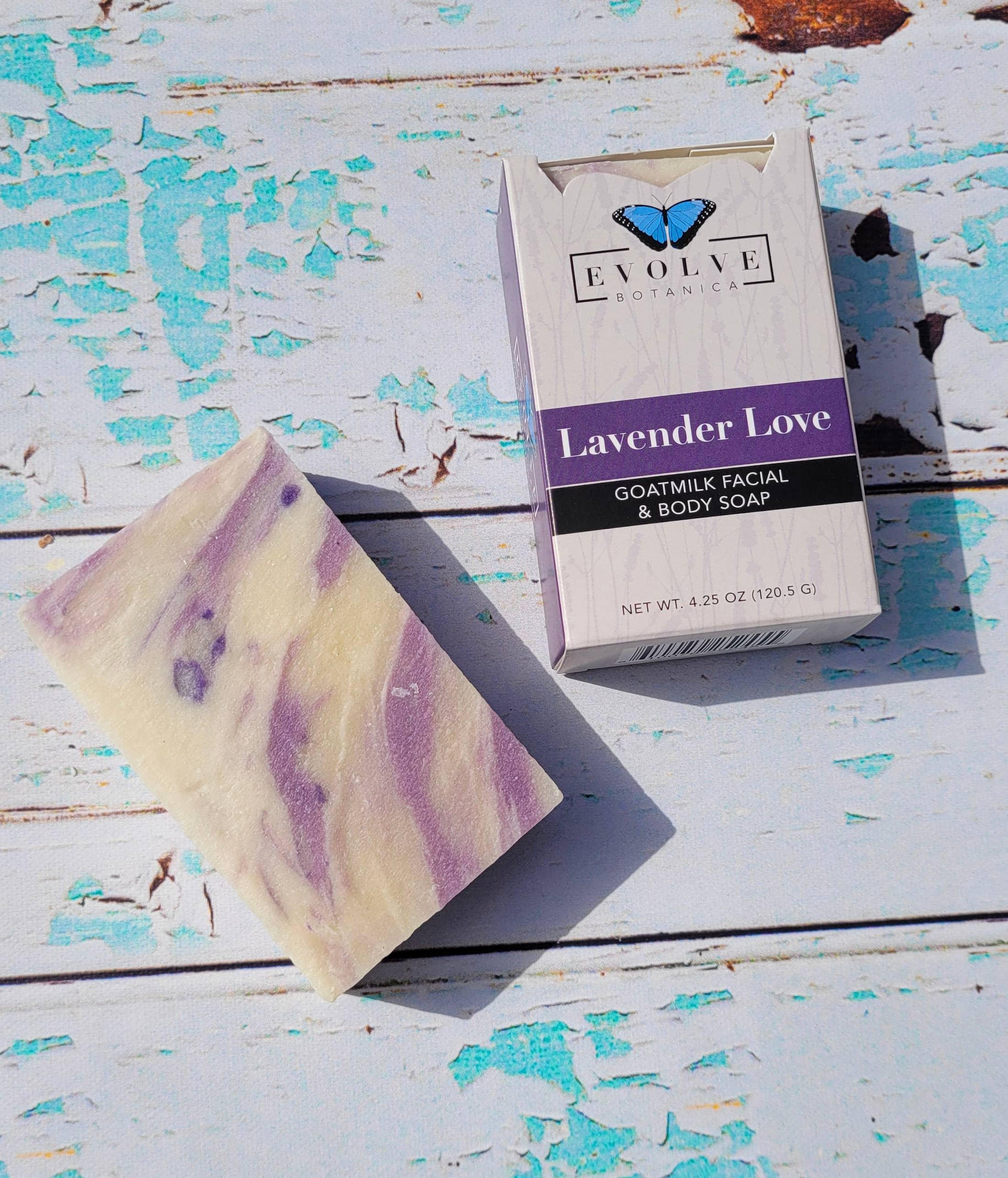Evolve - Standard Soap - Lavender Love (Goatmilk)   Trada Marketplace