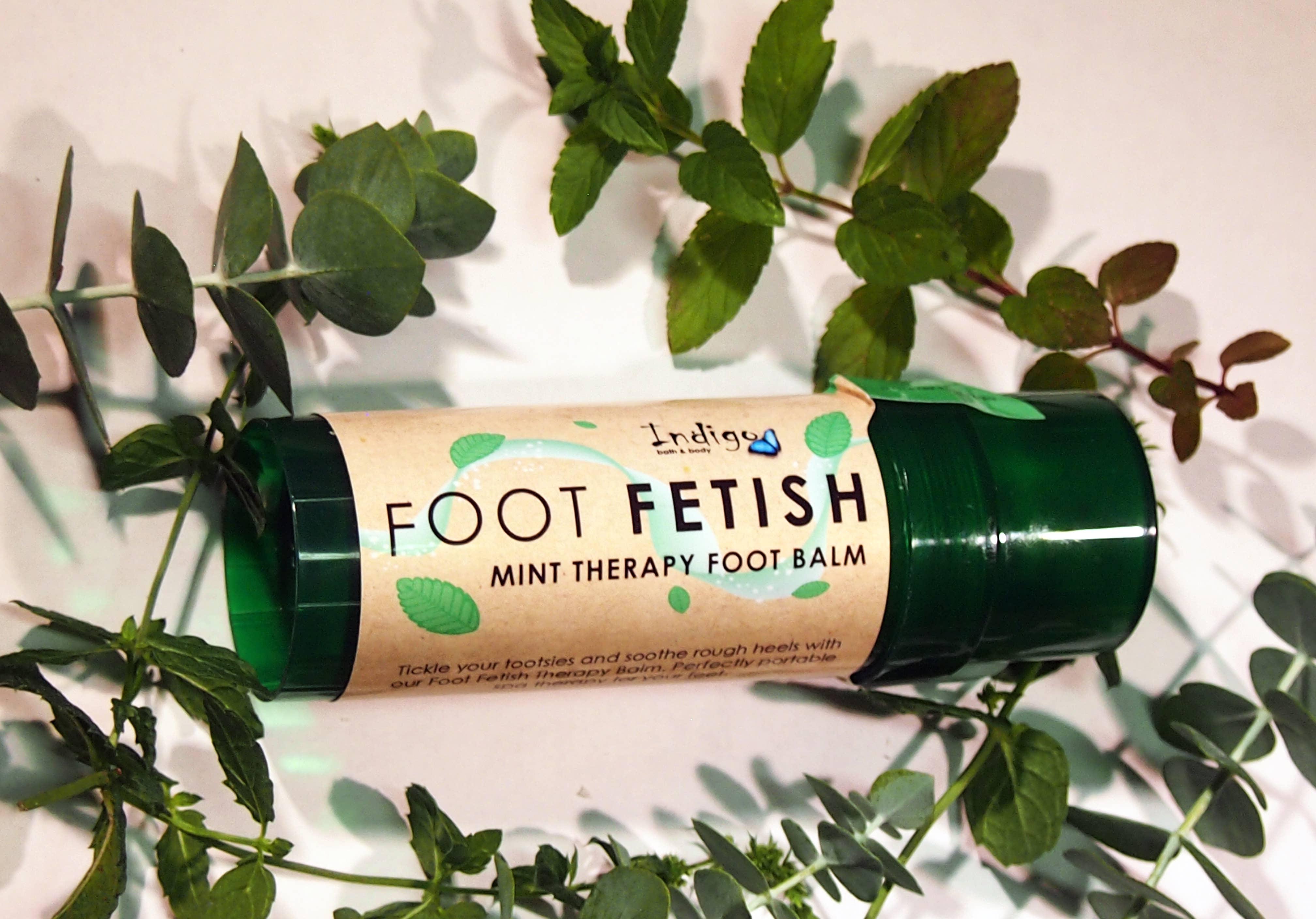 Indigo - Foot Fetish Mint Therapy Balm - All natural!   Trada Marketplace