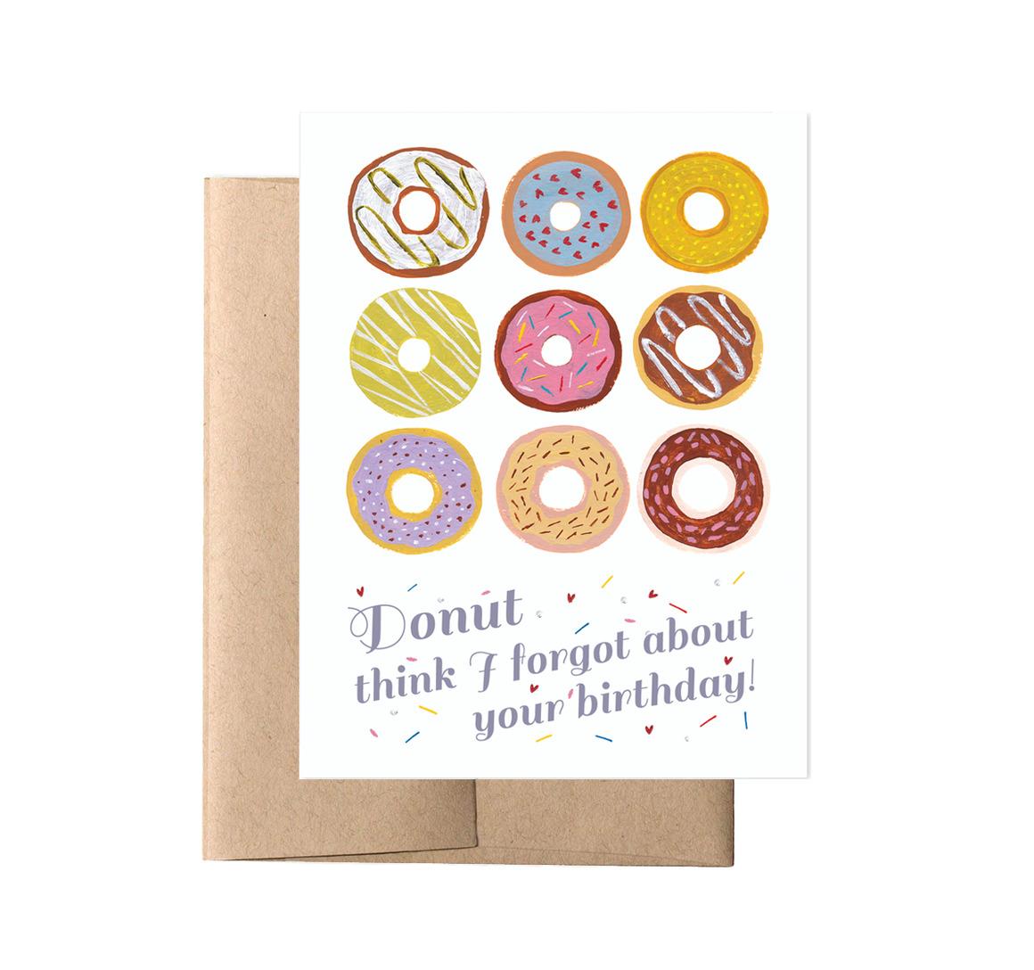 Donut Birthday (Box of 8)   Trada Marketplace