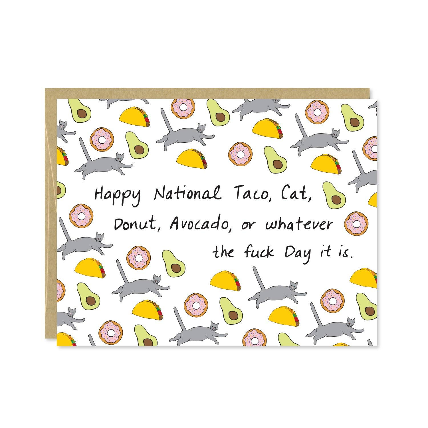 National Whatever Day Card | Trada Marketplace
