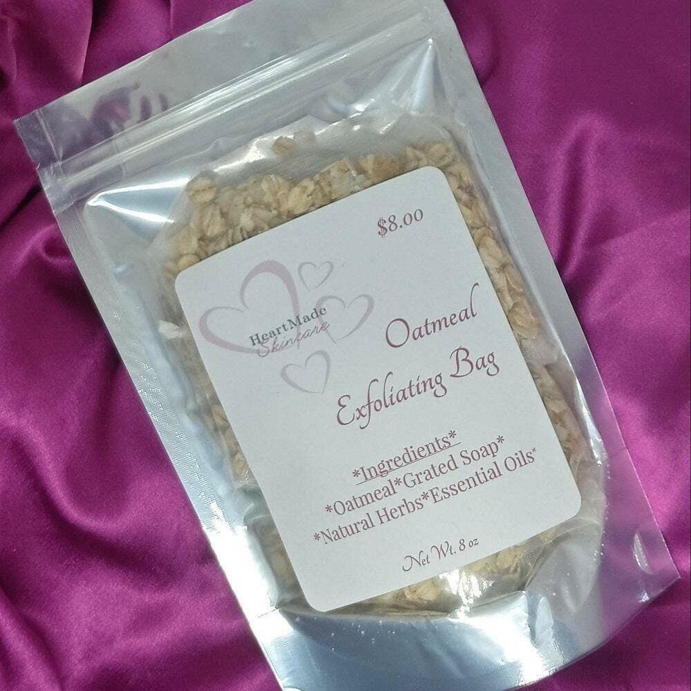 Oatmeal Exfoliating Bag | Trada Marketplace