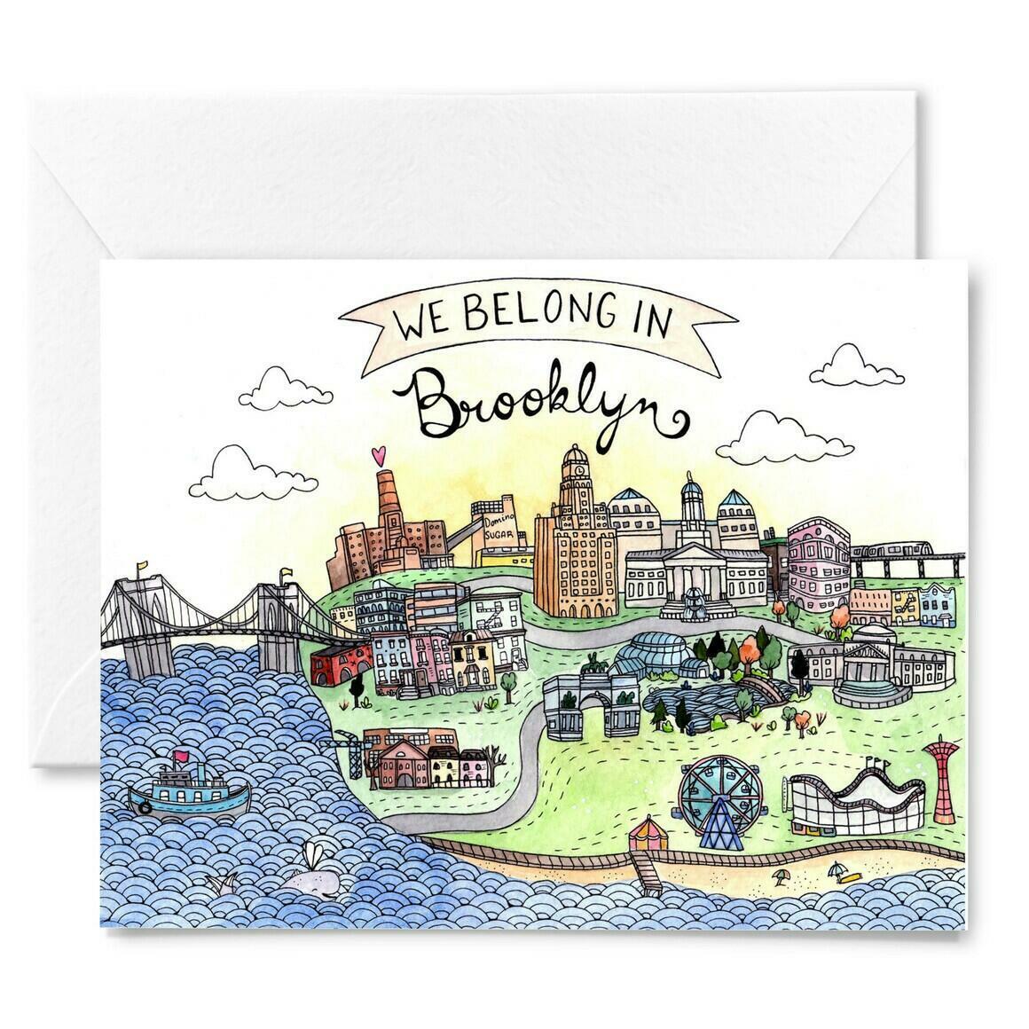 Brooklyn Love Card | Trada Marketplace