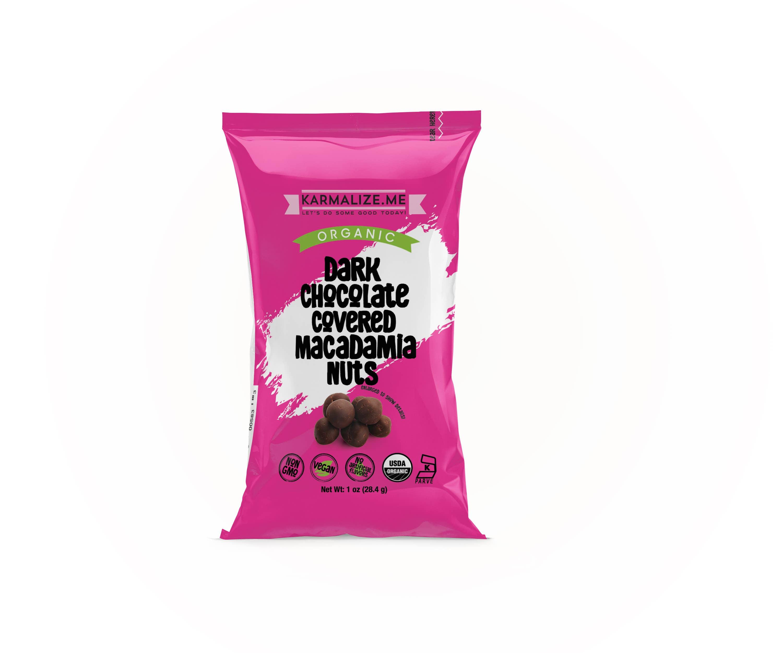 Organic Chocolate Macadamia - 1 oz | Trada Marketplace