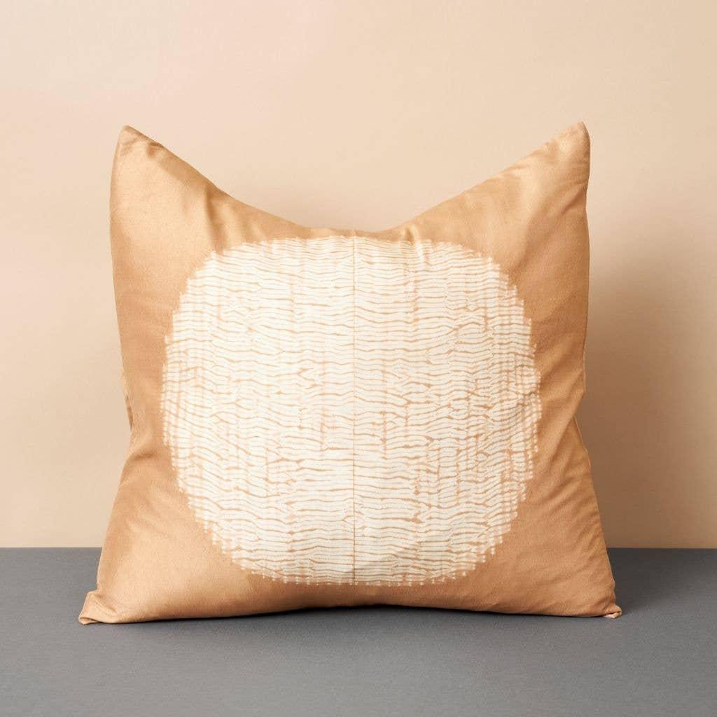 Shunya Gold Silk Pillow | Trada Marketplace