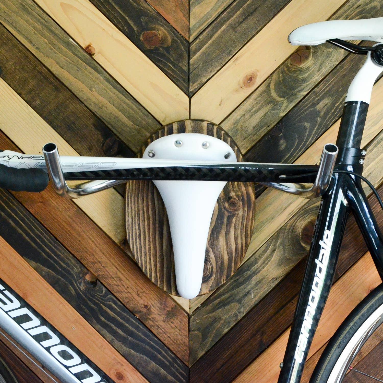 White Albino Bicycle Wall Rack | Trada Marketplace