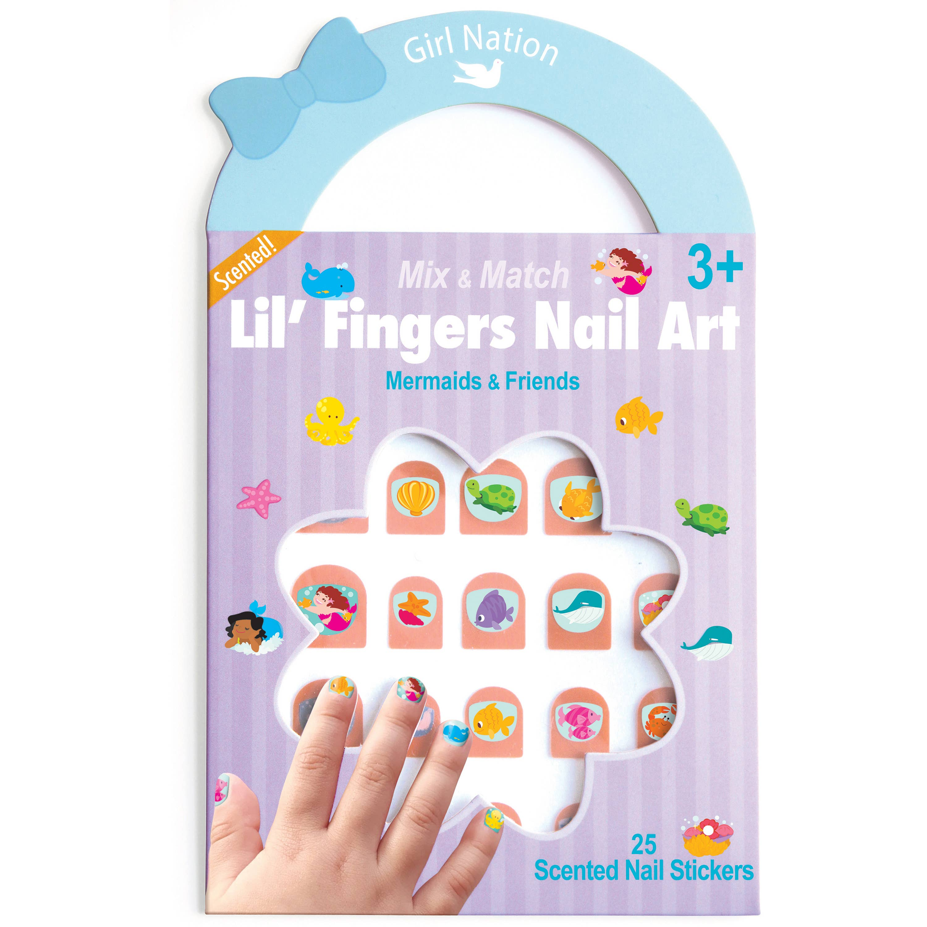 Lil' Fingers Nail Art- Mermaids & Friends | Trada Marketplace