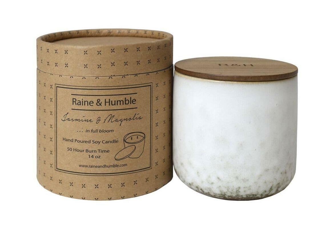 14oz Jasmine & Magnolia Candle | Trada Marketplace