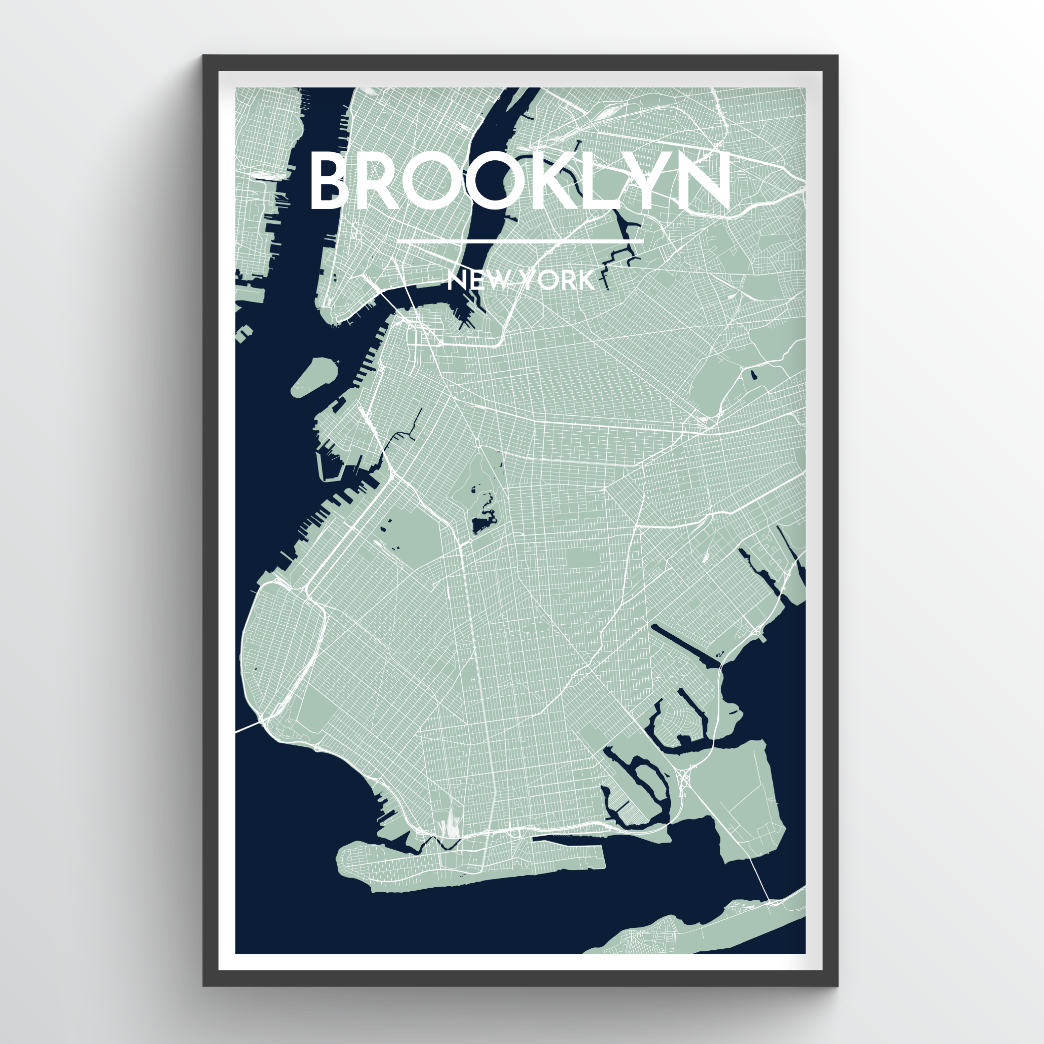 Brooklyn City Map | Trada Marketplace