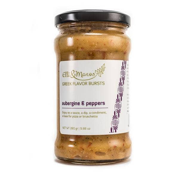 Elli & Manos - Aubergine & Pepper, All-Natural Spread/Dip | Trada Marketplace