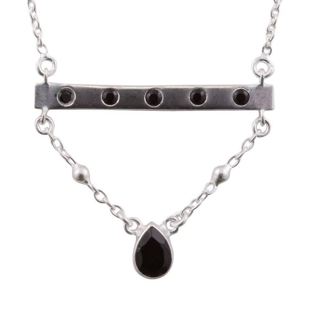 20% OFF Bridged Spinel Sterling Bar Necklace   Trada Marketplace
