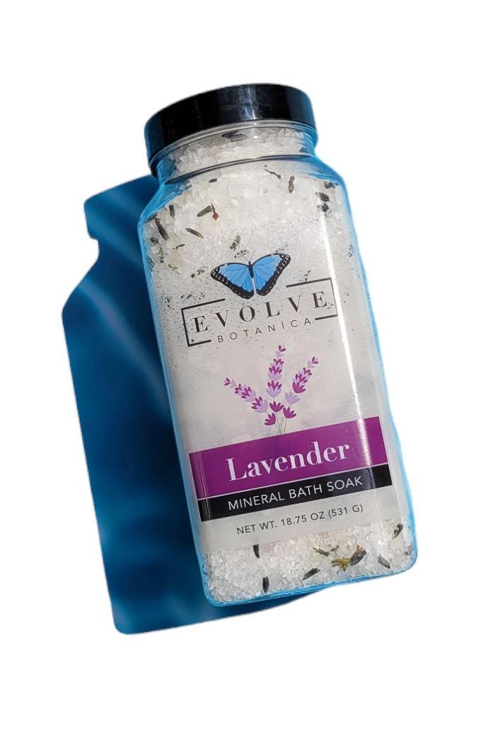 Evolve - Bath Salt / Mineral Soak - Lavender Spa | Trada Marketplace