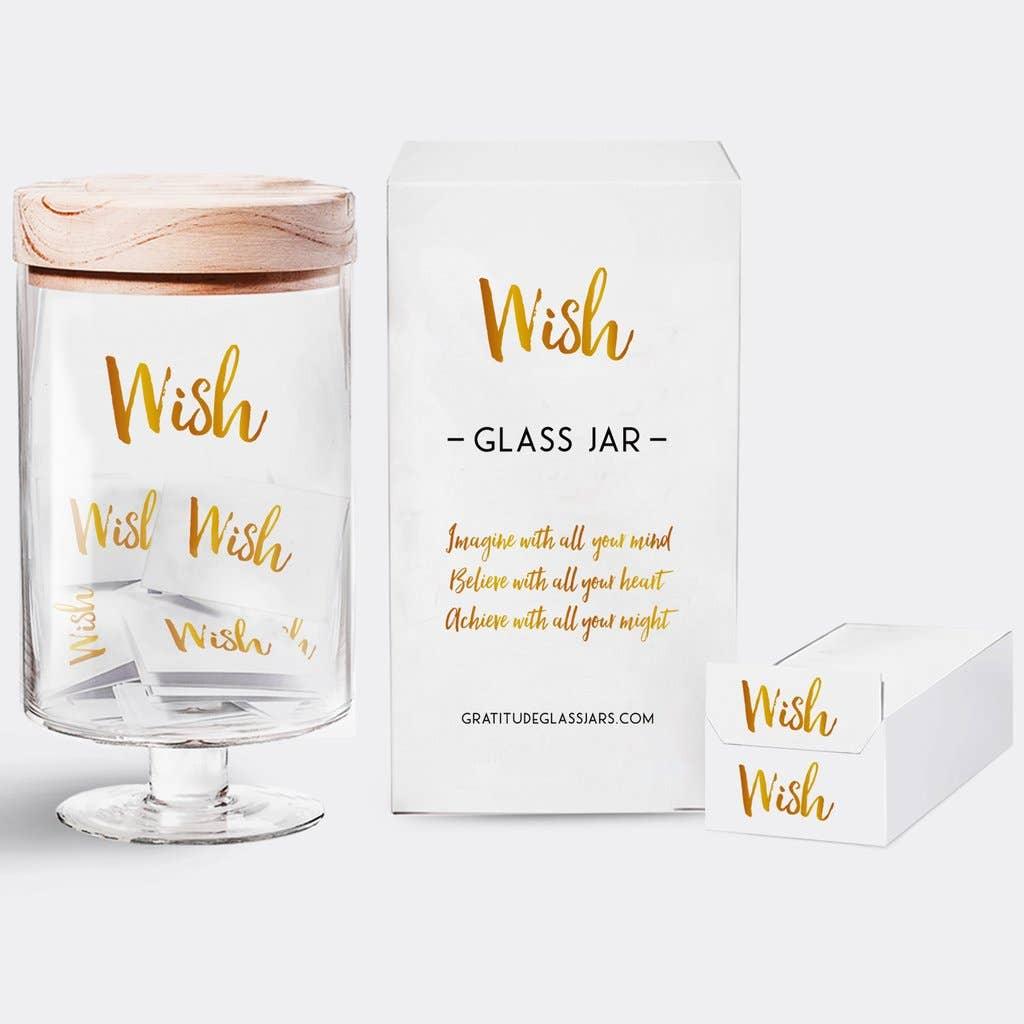Wish Glass Jar | Trada Marketplace