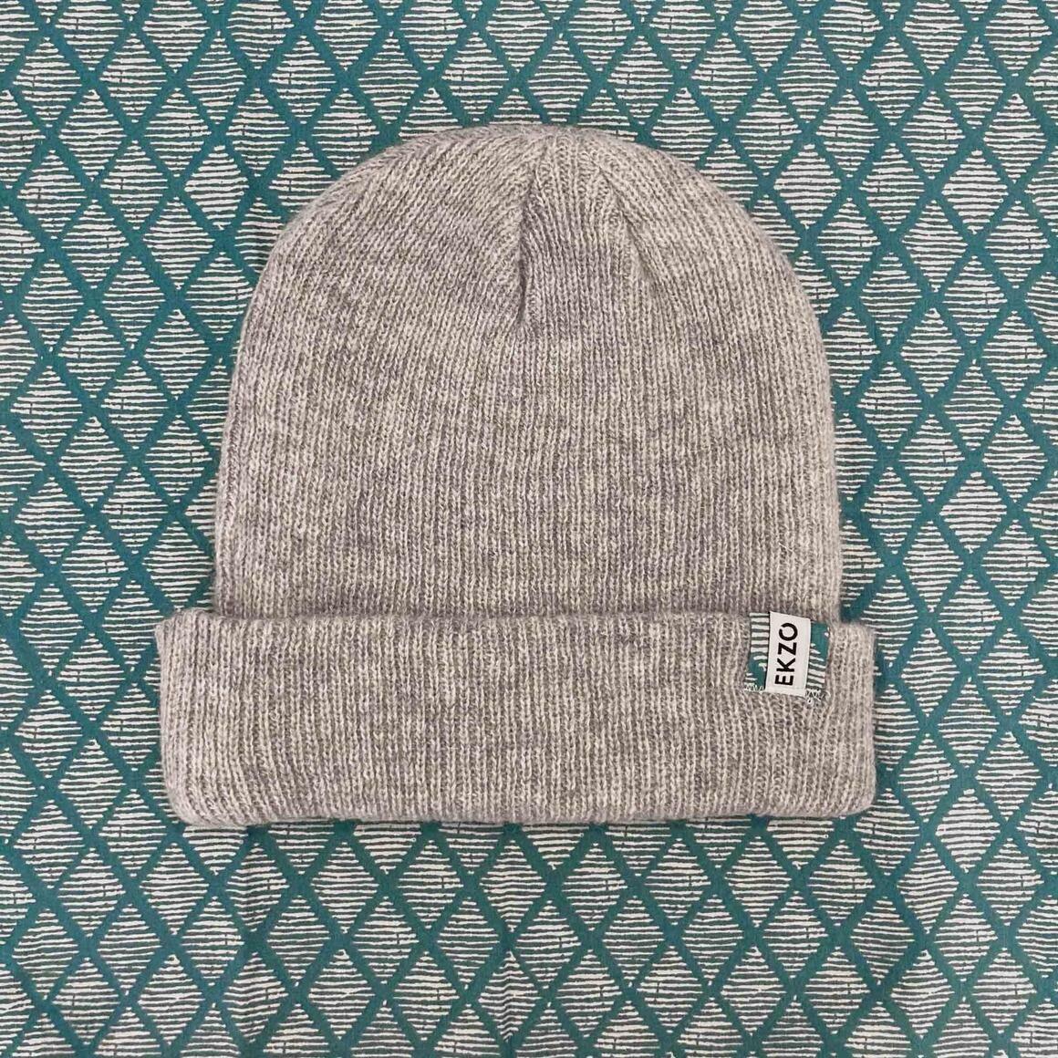 Merino Wool Beanie Gray | Trada Marketplace