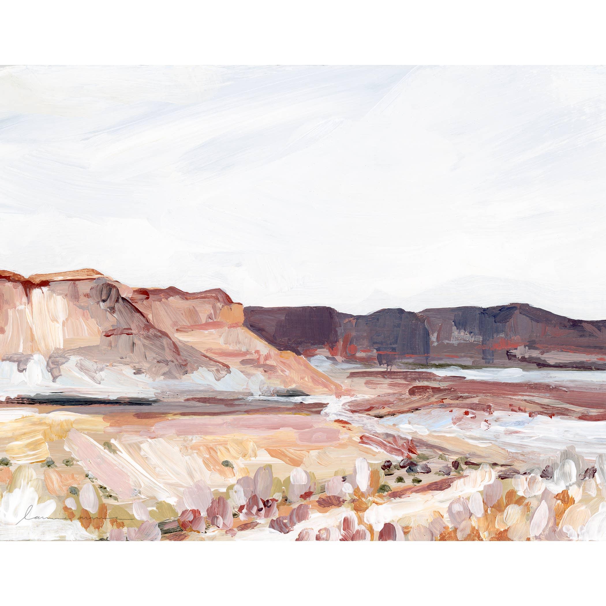 Plateau Horizontal Canvas Print   Trada Marketplace