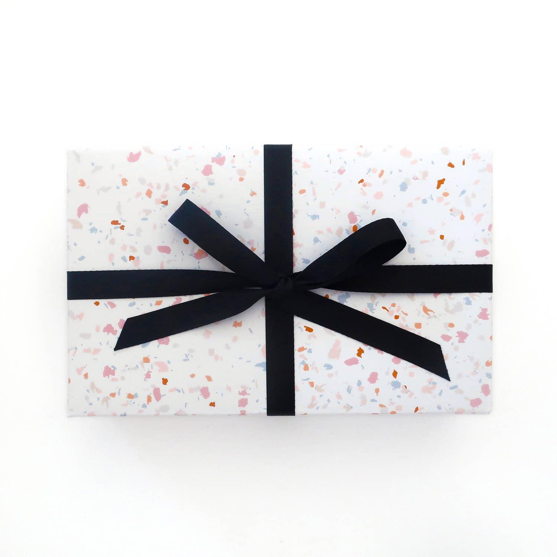Terrazzo Gift Wrap Sheets | Trada Marketplace