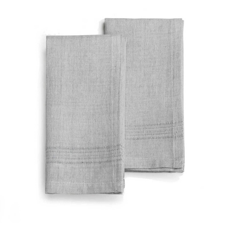 SEA SALT Napkin (set of  2), Handwoven Cotton | Trada Marketplace