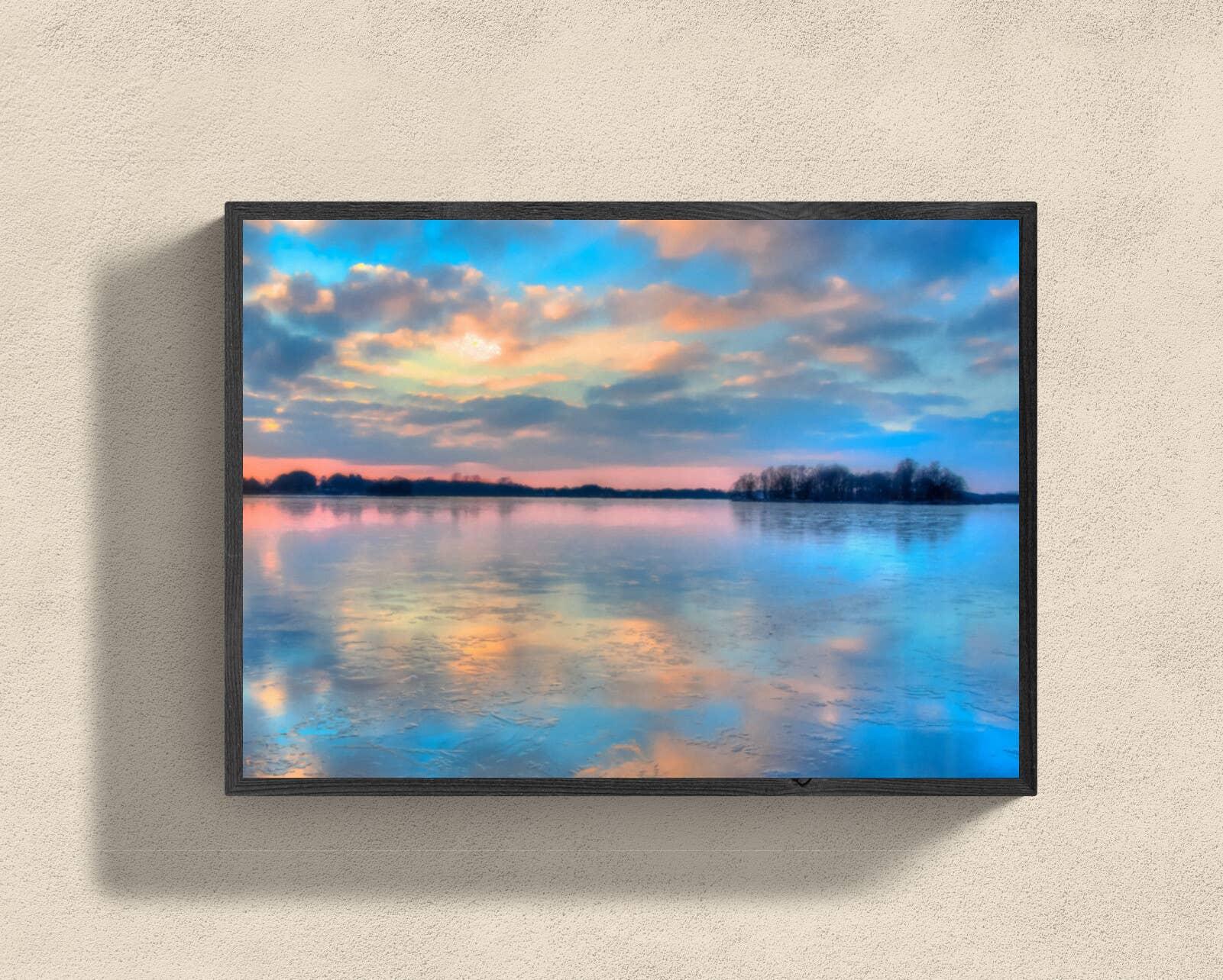"""Pastel Clouds at Sunset"" Fine Art Print | Trada Marketplace"