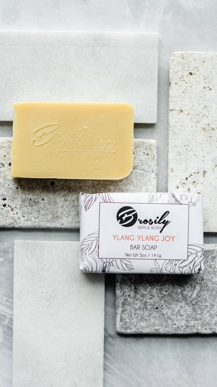 Ylang Ylang Vegan Bar Soap  - 5oz   Trada Marketplace
