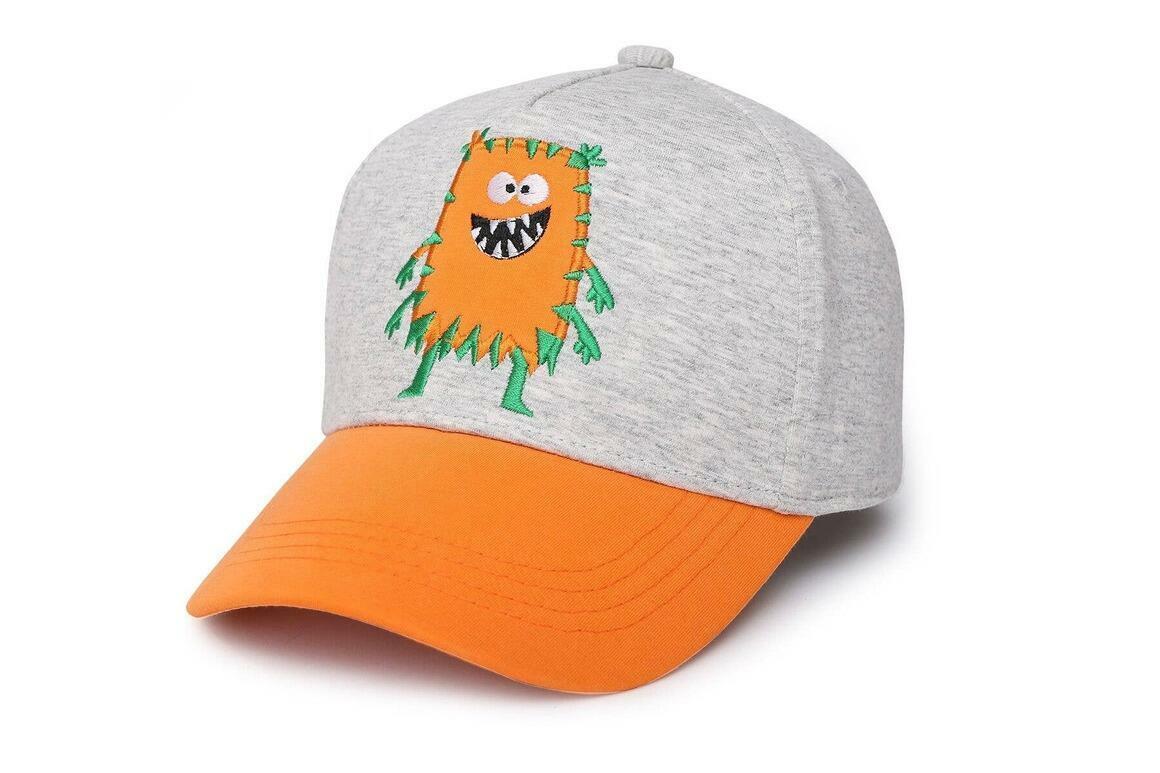 Kids UPF50+ Ball Cap - Monster Orange | Trada Marketplace