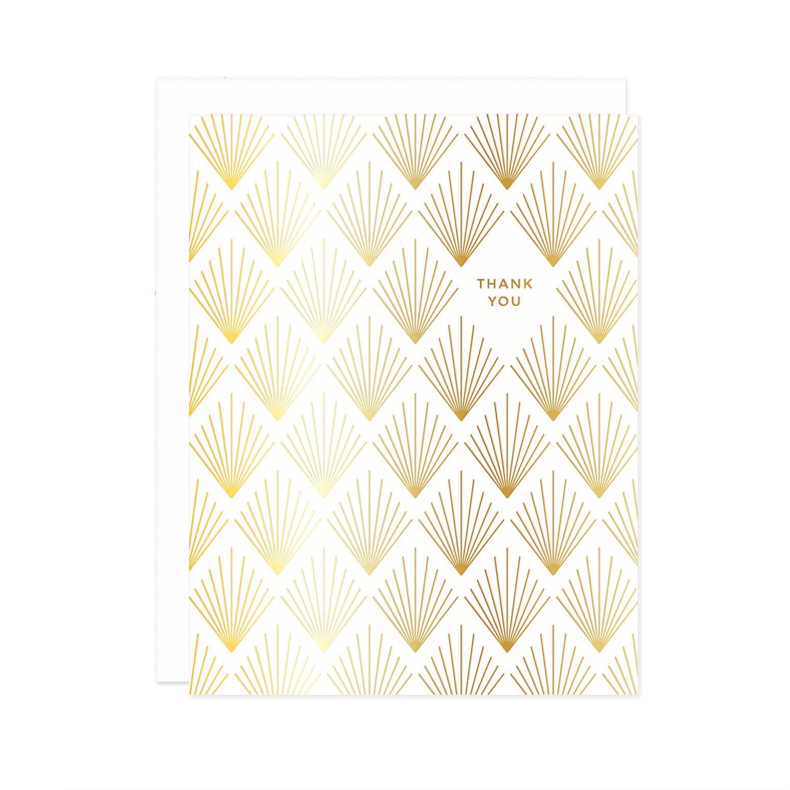 Deco Thank You Card | Trada Marketplace