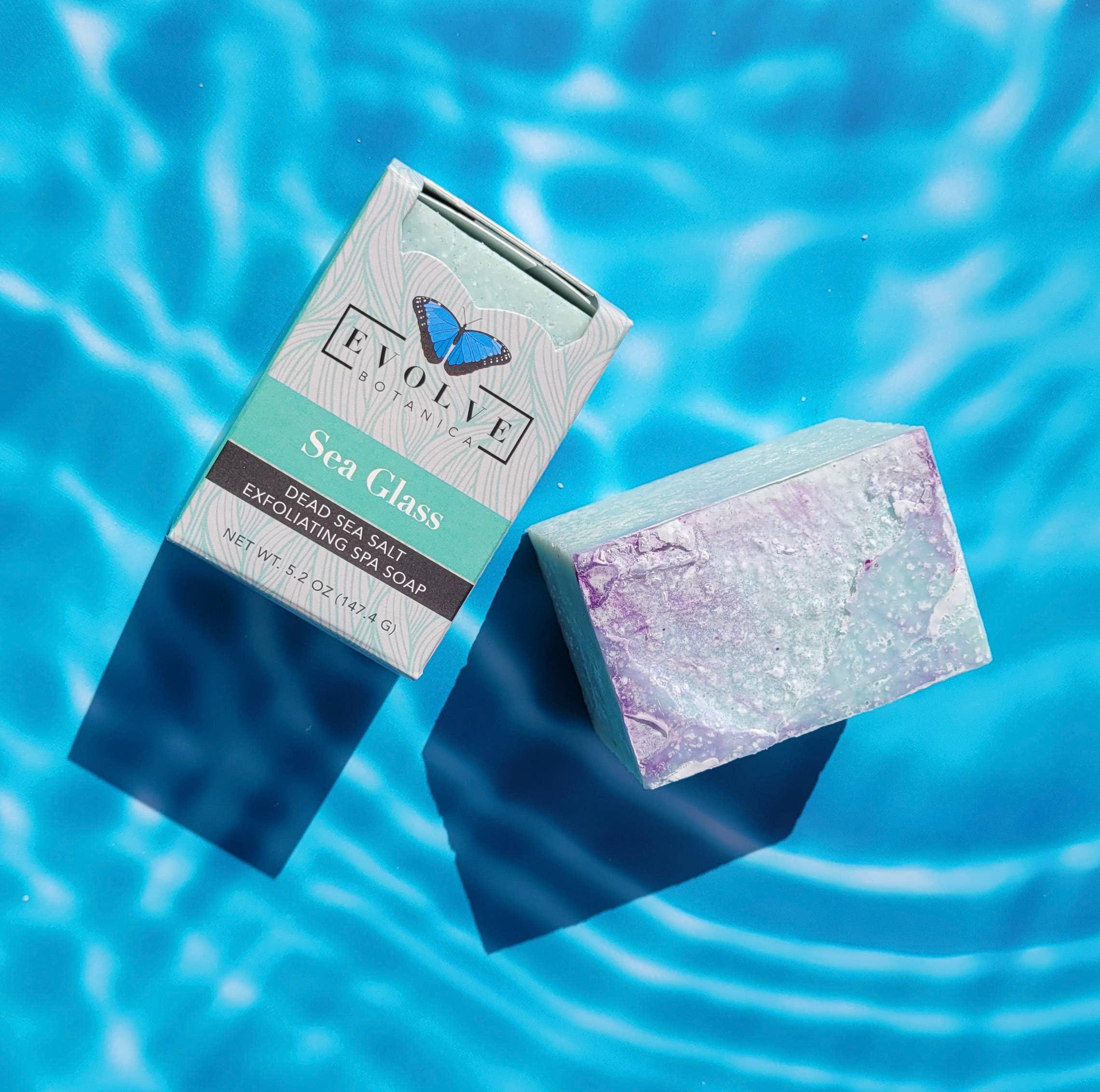 Evolve - Specialty Soap - Sea Glass Salt Bar | Trada Marketplace