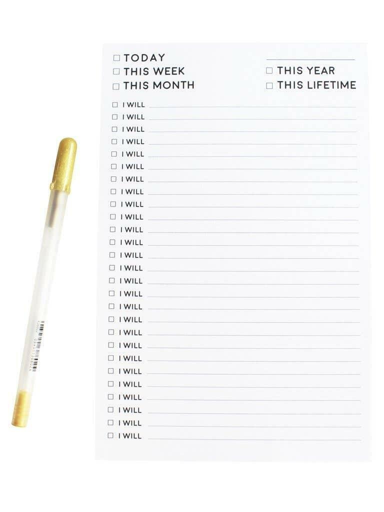 I Will Notepad   Trada Marketplace