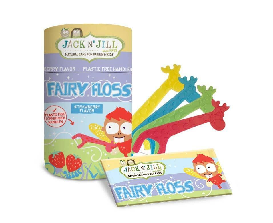 Jack N' Jill Biodegradable Floss Picks 30pcs | Trada Marketplace