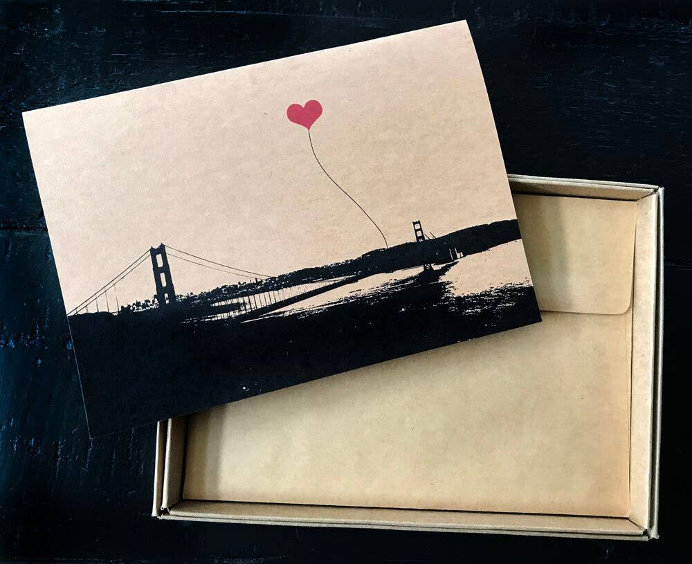 San Francisco Wideshot Golden Gate Single Card | Trada Marketplace