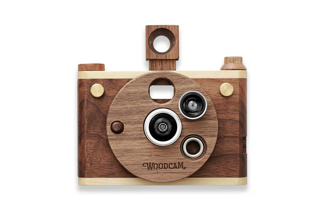 Multi-Lense Wooden Digtial Camera-Vintage One   Trada Marketplace