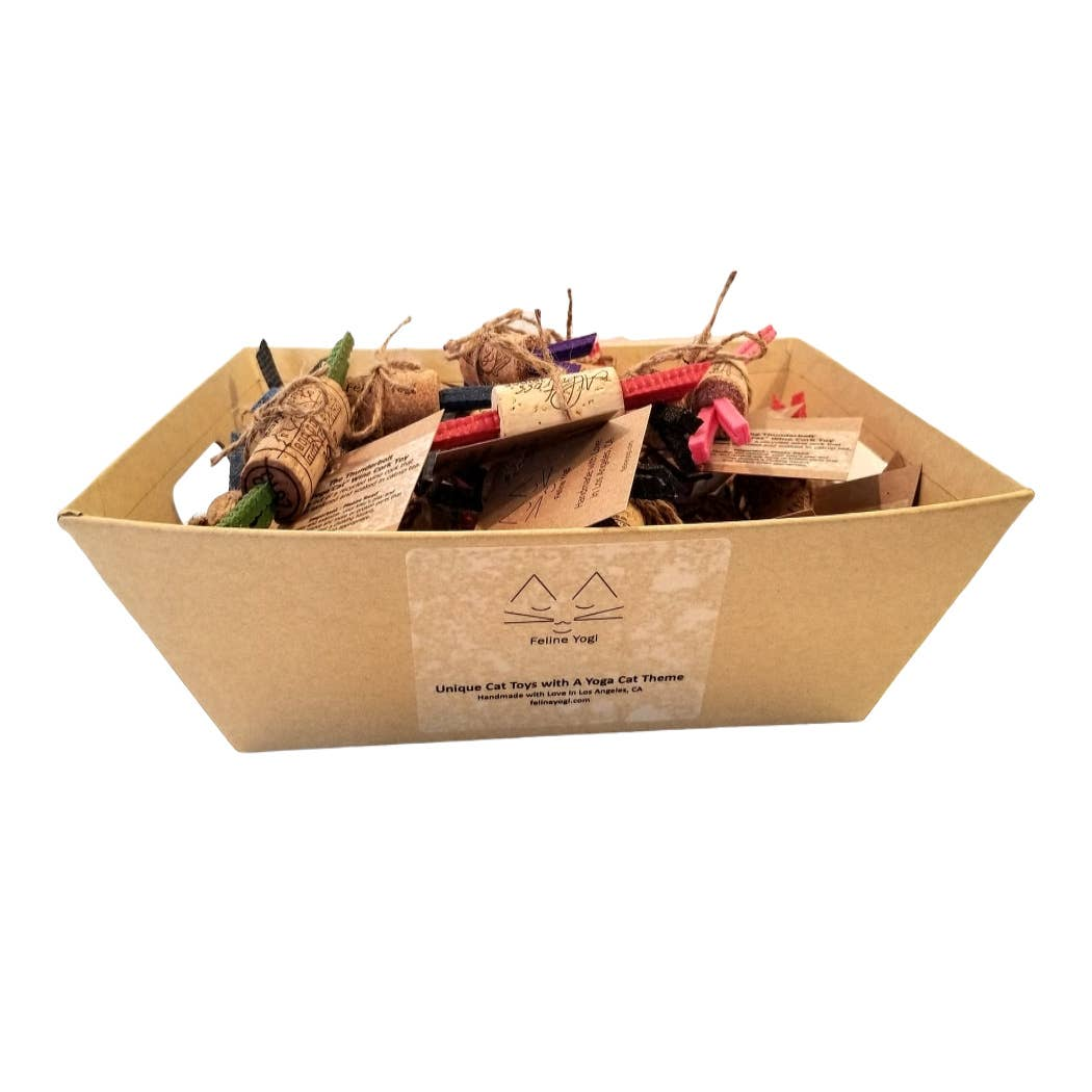 Wine Cork Cat Toy Counter Top Display-36 Ct   Trada Marketplace