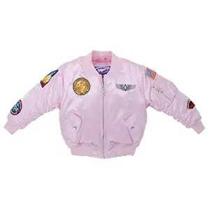 MA-1 Flight Jacket Pink   Trada Marketplace