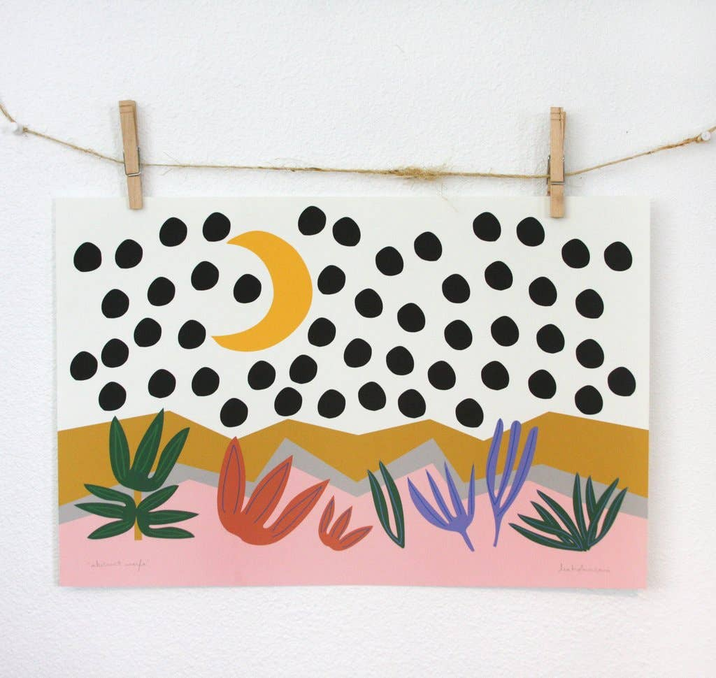 Abstract Marfa Art Print | Trada Marketplace