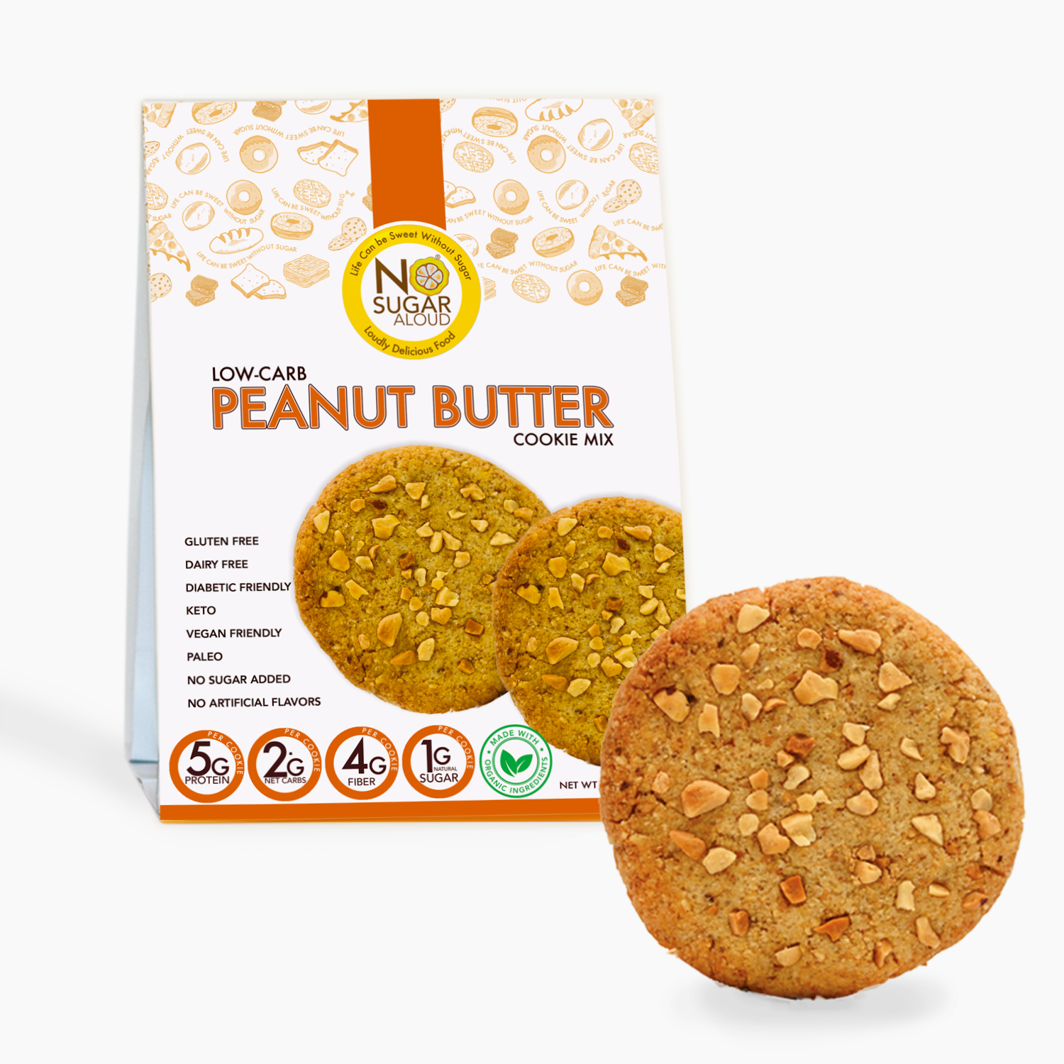 Low Carb Peanut Butter Cookie Mix   Trada Marketplace