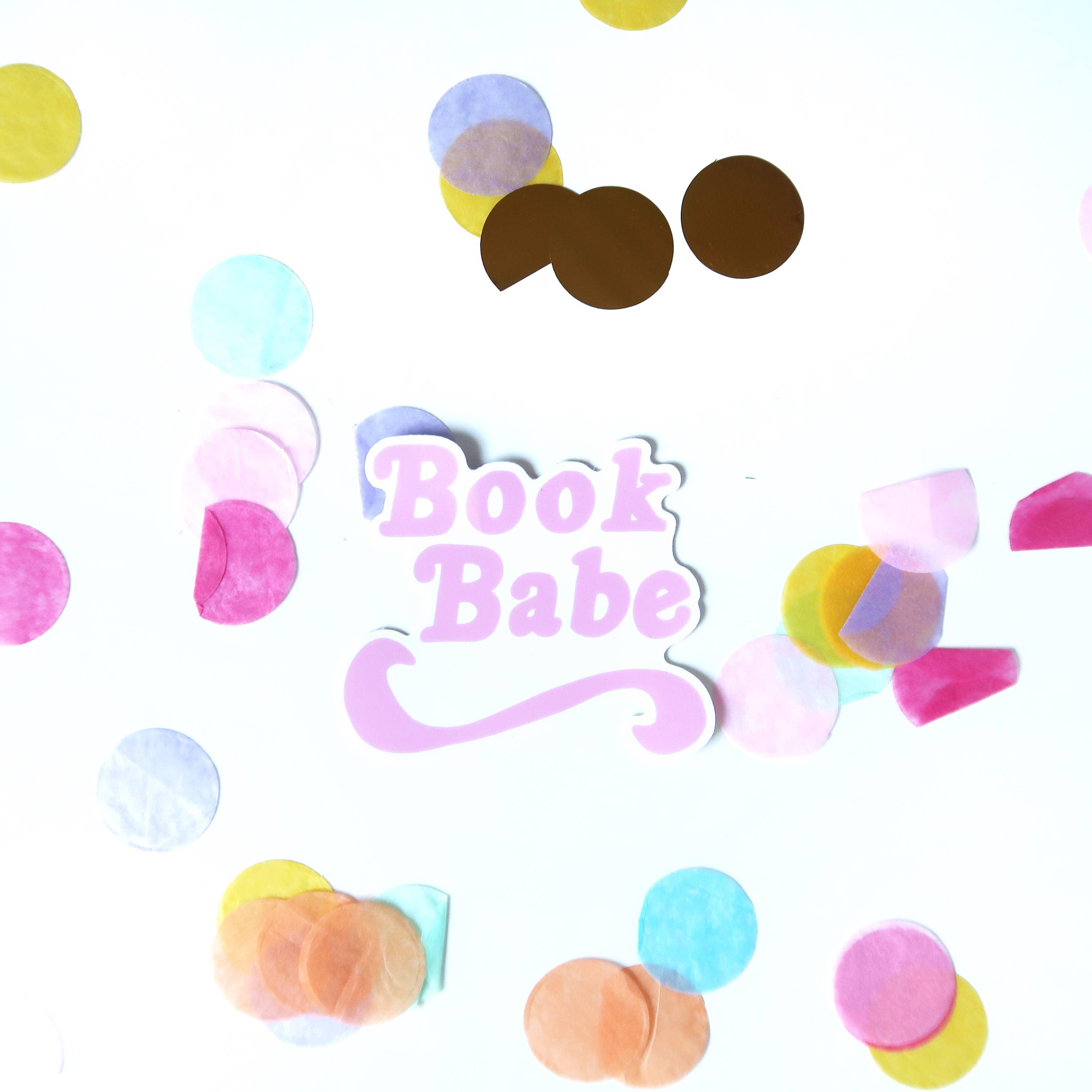 Book Babe Sticker   Trada Marketplace