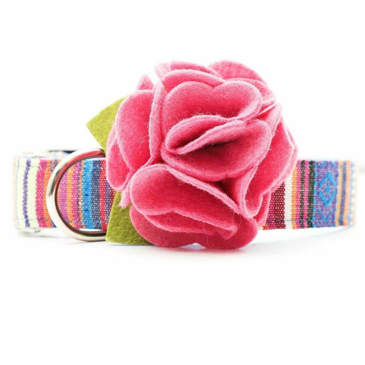 Dog Collar Hydrangea Flower - English Rose   Trada Marketplace