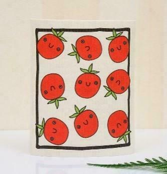 Tomato Swedish Dishcloth   Trada Marketplace