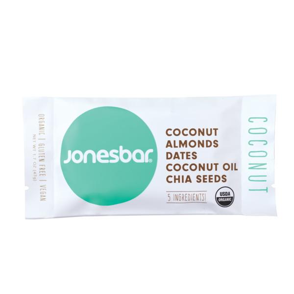Jonesbar Coconut Organic Energy Bar | Trada Marketplace
